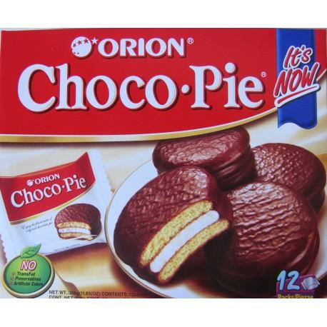Orion Choco Pie 360g (12 x 30g) čokoládové koláčky