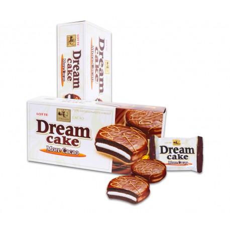 Lotte Dream Cake 192g (6x32g) - koláčky s krémem v čokoládě