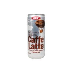 OKF Caffe Latte, ledová káva 235ml plech