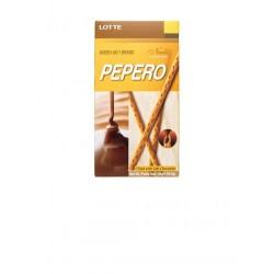 Pepero Nude  - sladké tyčinky plněné čokoládou, Lotte, 50g